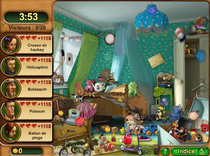 Gardenscapes chambre enfant en 420