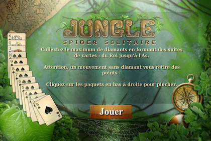 Jungle spider solitaire 1 en 420