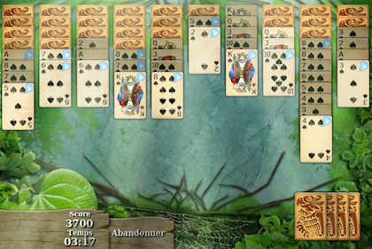 Jungle spider solitaire 2 en 420